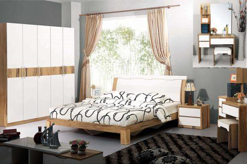 Bộ giường hiện đại XM9008