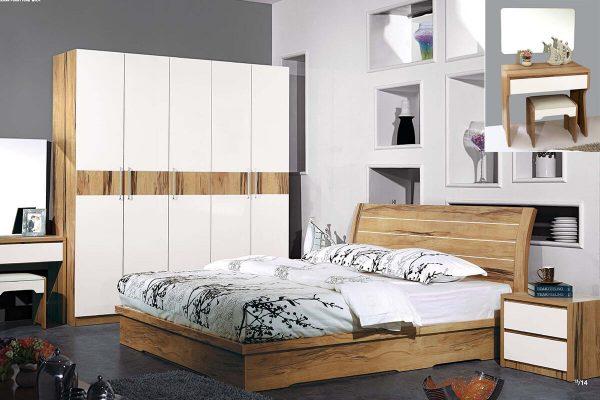 Bộ giường hiện đại XM9016